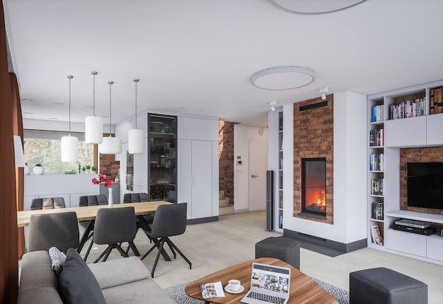 Nowe stylowe mieszkanie