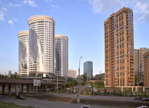 Nowe wieżowce w nowosybirsku