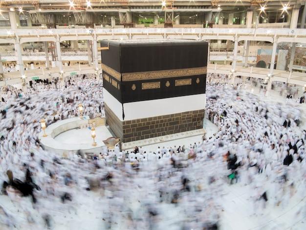 Nowe zdjęcia kaaba w mekce po renowacji
