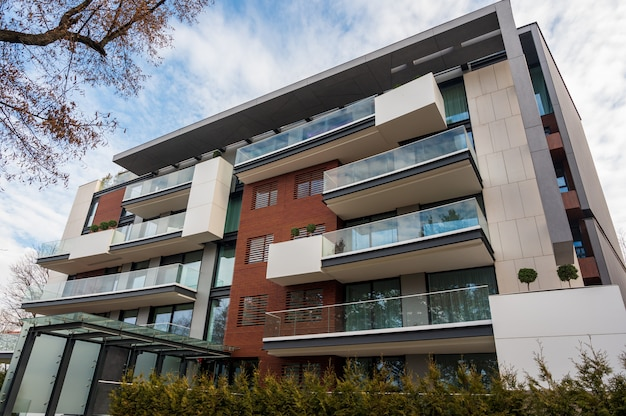 Nowoczesna architektura mieszkania