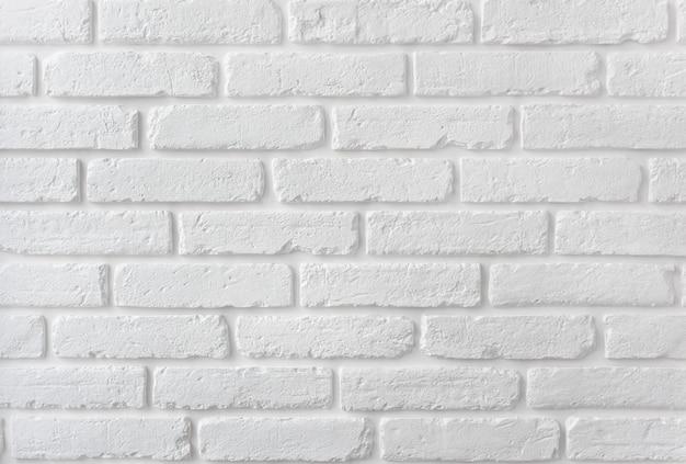 Nowoczesna biała cegła ściana tekstur na tle.
