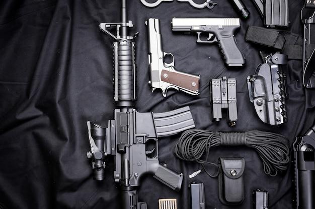 Nowoczesna broń, czarna
