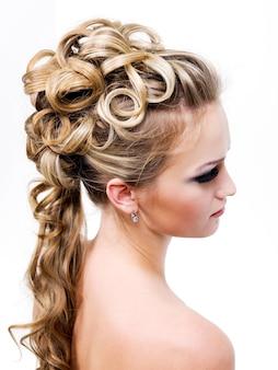 Nowoczesna fryzura ślubna