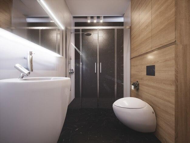 Nowoczesna i stylowa łazienka