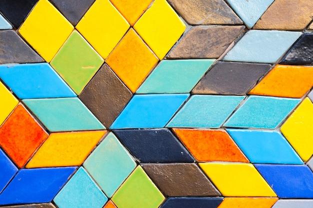 Nowoczesna kolorowa linia zaprawy na tło lub teksturę - miejsce na treść.