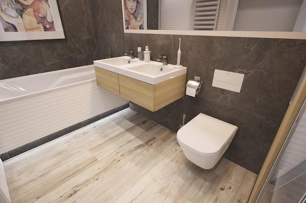 Nowoczesna łazienka 3d
