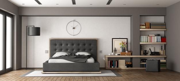 Nowoczesna sypialnia główna