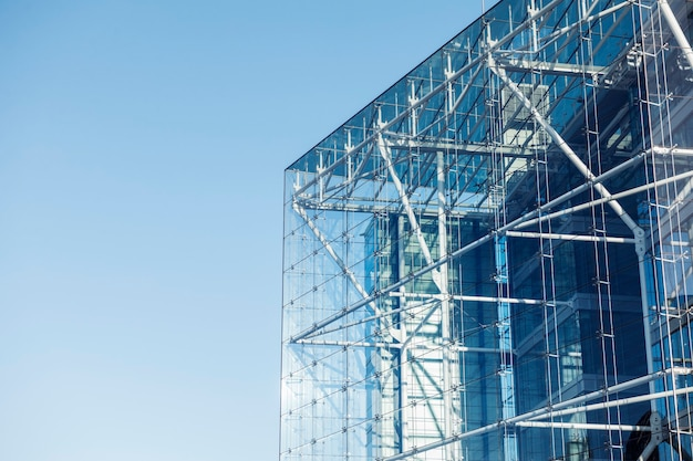 Nowoczesna szklana architektura
