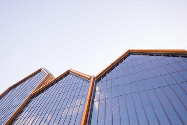 Nowoczesna szklana ściana budynku