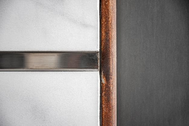 Nowoczesne abstrakcyjne ściany metalowe tło