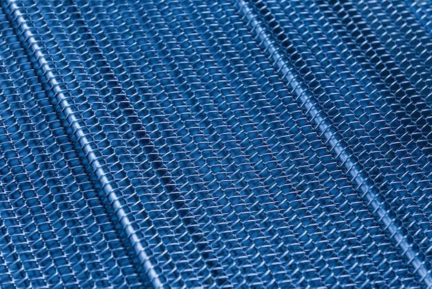 Nowoczesne abstrakcyjne tło siatki metalowej dla projektu