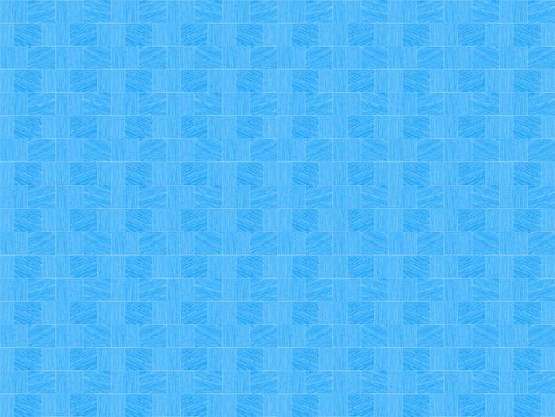 Nowoczesne bezszwowe powtarzające się małe niebieskie kwadratowe płytki wzór tekstury ściany