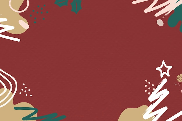 Nowoczesne świąteczne pozdrowienia redtextured tło z przestrzenią projektową