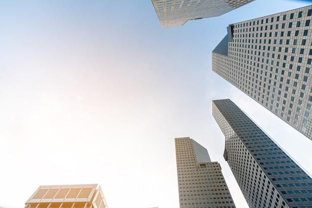 Nowoczesne wieżowce biznesowe
