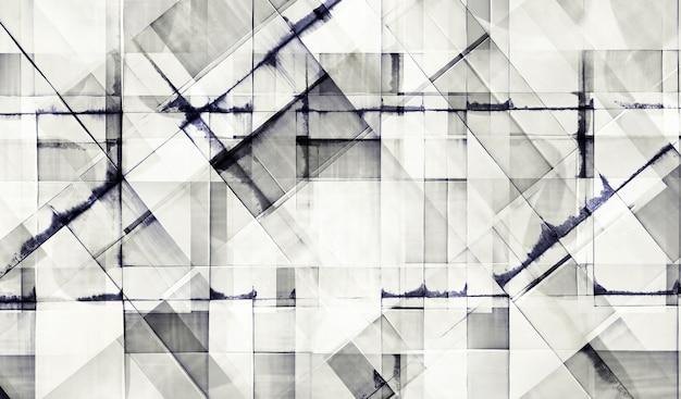 Nowoczesny biurowiec z fasadą ze szkła. budynki abstrakcyjne tło.
