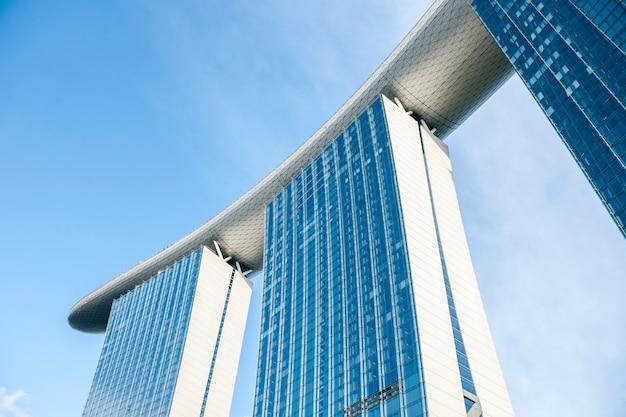 Nowoczesny budynek w singapurze