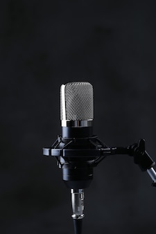 Nowoczesny mikrofon