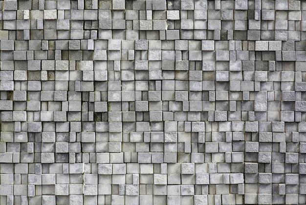 Nowoczesny mur z cegły