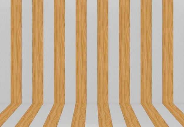 Nowoczesny przełącznik brązowy i szary panele drewniane ściany tło.