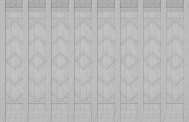 Nowoczesny szary kwadrat wzór drewna panele ścienne tło.