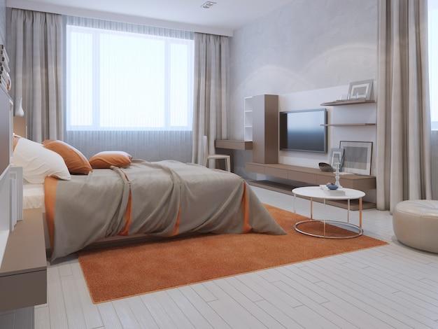 Nowoczesny trend w sypialni głównej