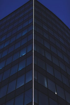 Nowoczesny wieżowiec biznesowy