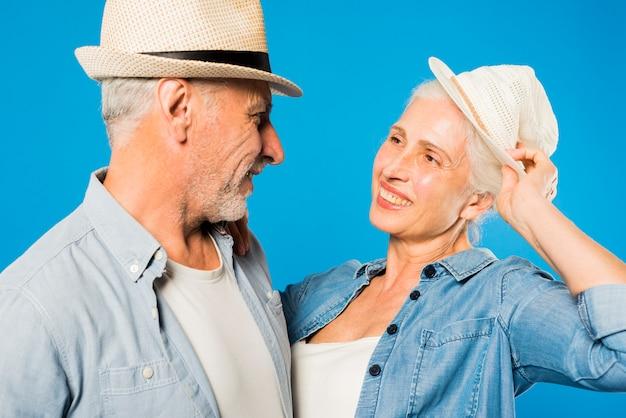 Nowożytna chłodno starsza para