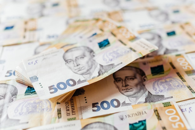 Nowy banknot pięciuset hrywien ukraińskich