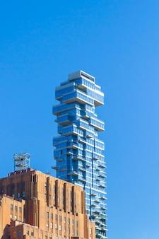 Nowy jork - nowoczesny budynek