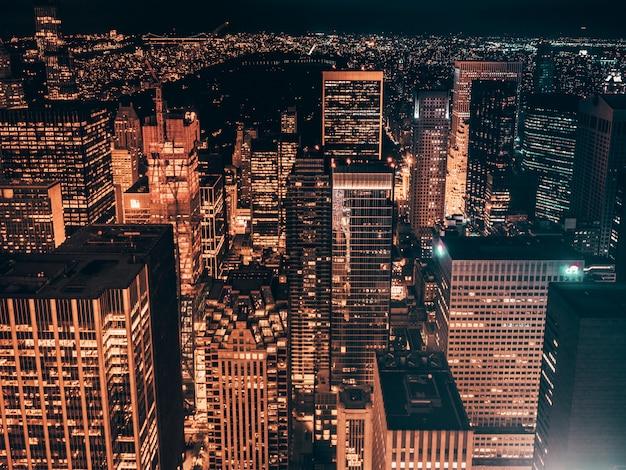Nowy jork w nocy