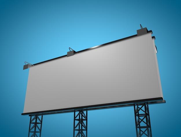 Nowy makieta billboardu