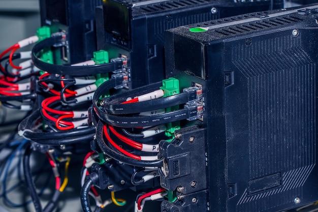 Nowy panel sterowania z wyłączniki
