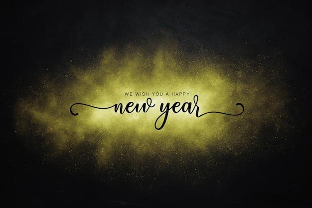 Nowy rok w tle