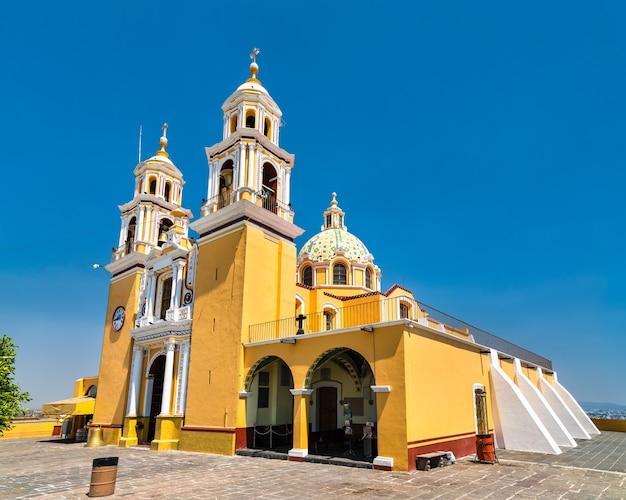 Nuestra senora de los remedios w cholula w meksyku