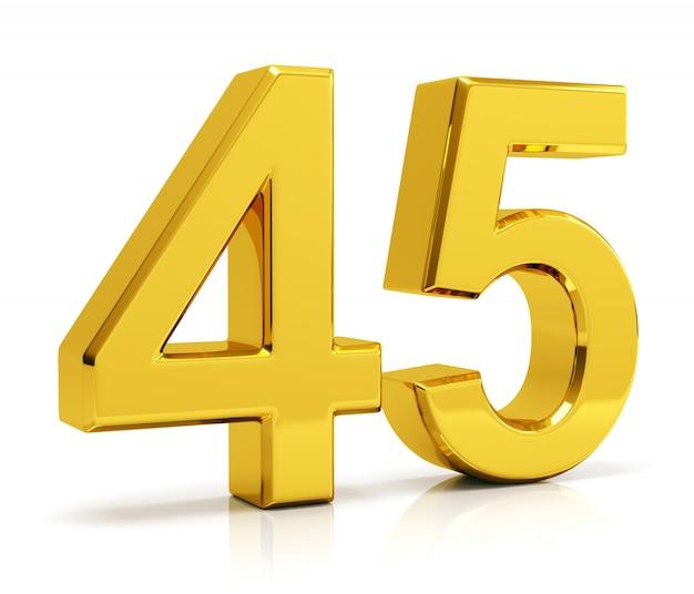 Numer 45