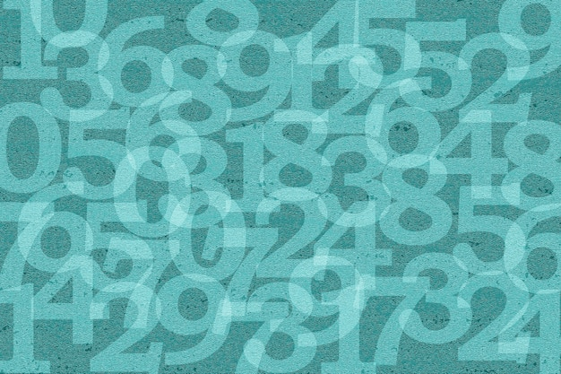 Numer tekst wzór tekstury tła tapety