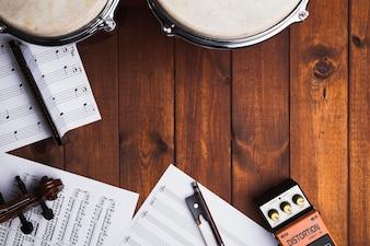 Nuty i instrumenty muzyczne