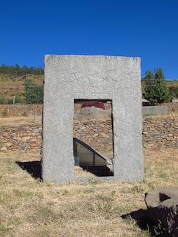 Obeliski w mieście aksum, etiopia