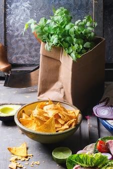 Obiad w stylu meksykańskim