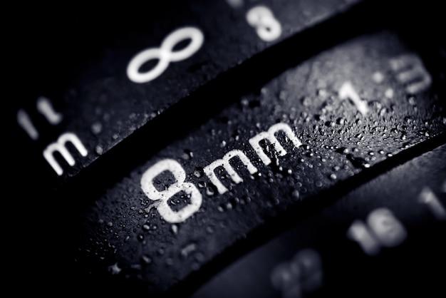 Obiektyw aparatu cyfrowego 8 mm