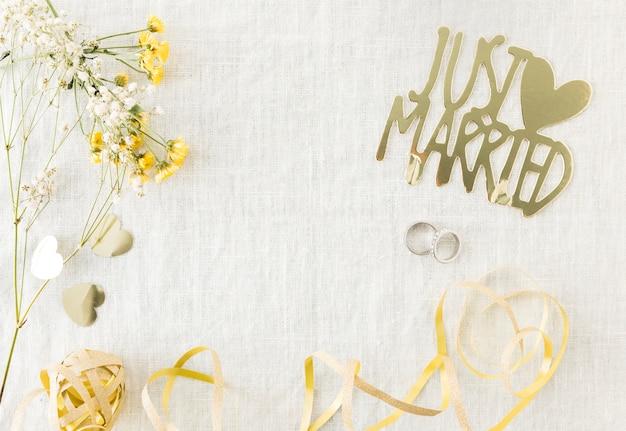 Obrączki ślubne z ornamentami