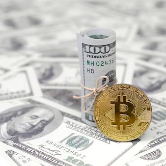 Obraz koncepcyjny globalnego systemu płatności blockchain kryptowaluty