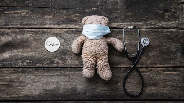 Obraz koncepcyjny zdrowia serca u dzieci