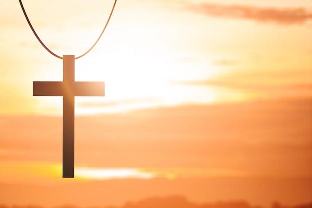 Obraz krzyża chrześcijańskiego