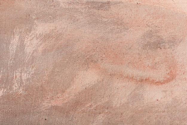 Obraz malowany różnymi odcieniami łososia i bieli