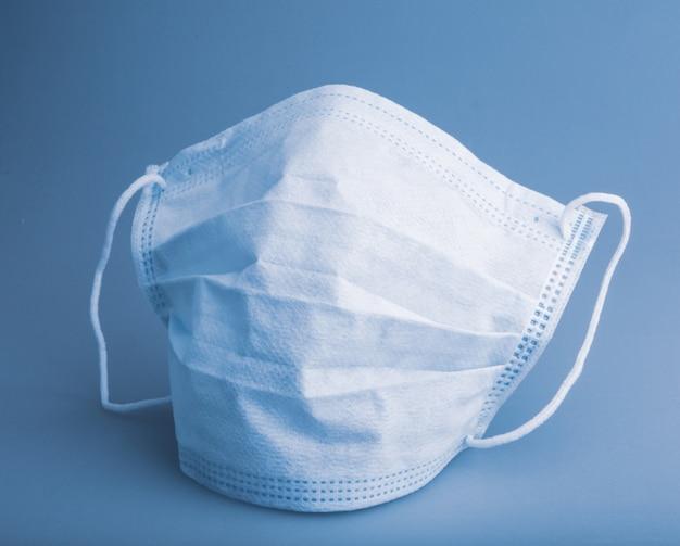 Obraz medycznej maski ochronnej na twarz. maska chirurgiczna, zwana również ffp