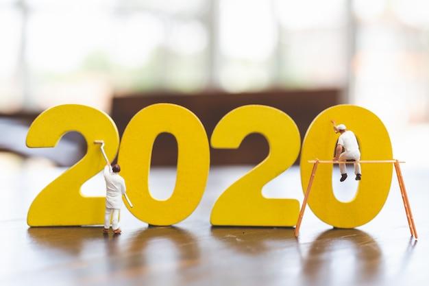 Obraz miniaturowego zespołu pracowników nr 2020
