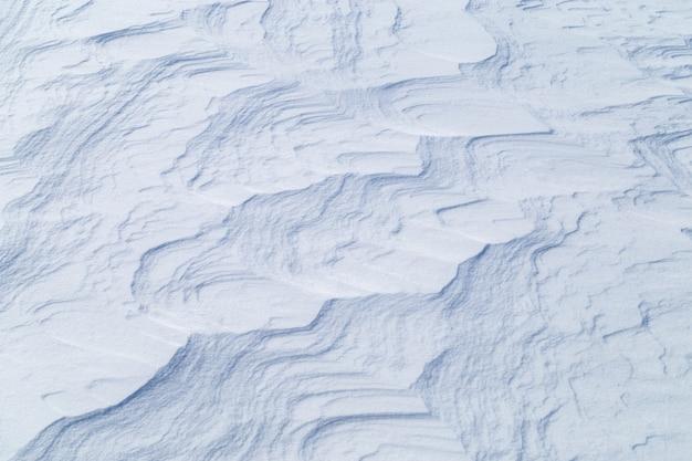 Obraz o śnieżnej fakturze
