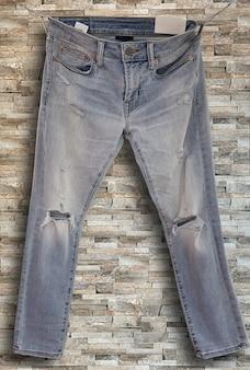 Obraz starych jeansów rustick denim
