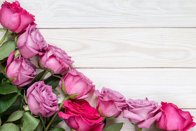 Obraz z różami.